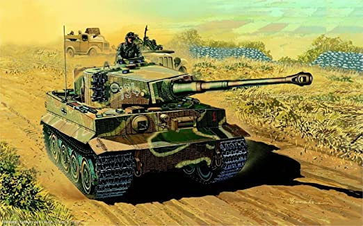 WW2 German Tiger Tank Poster Print