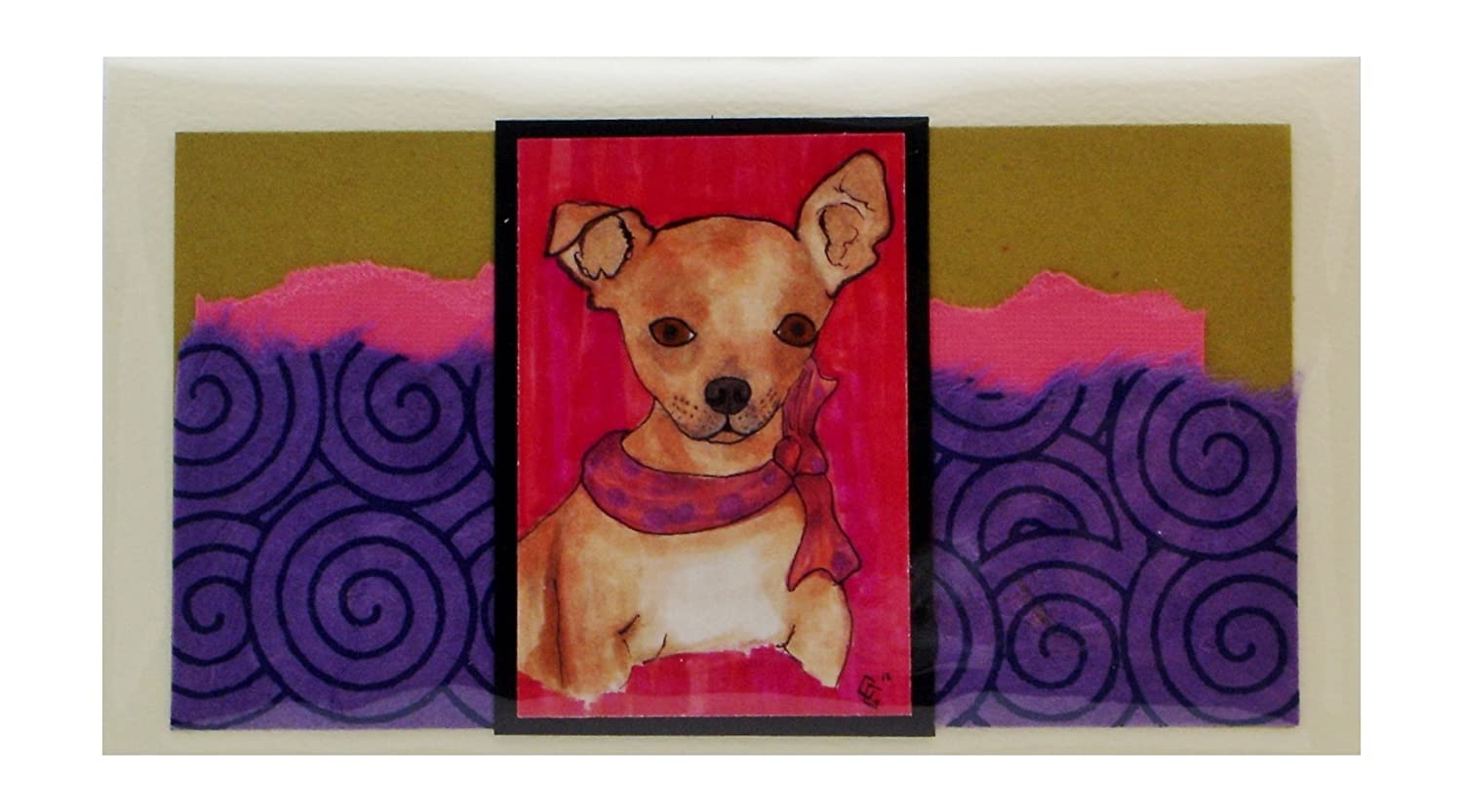 Chihuahua Checkbook Made in The USA #717