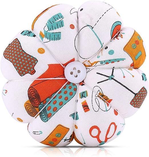 Vobor Agujas Pin Cushion-1 pcs Tela de Calabaza Creativa Agujas de ...