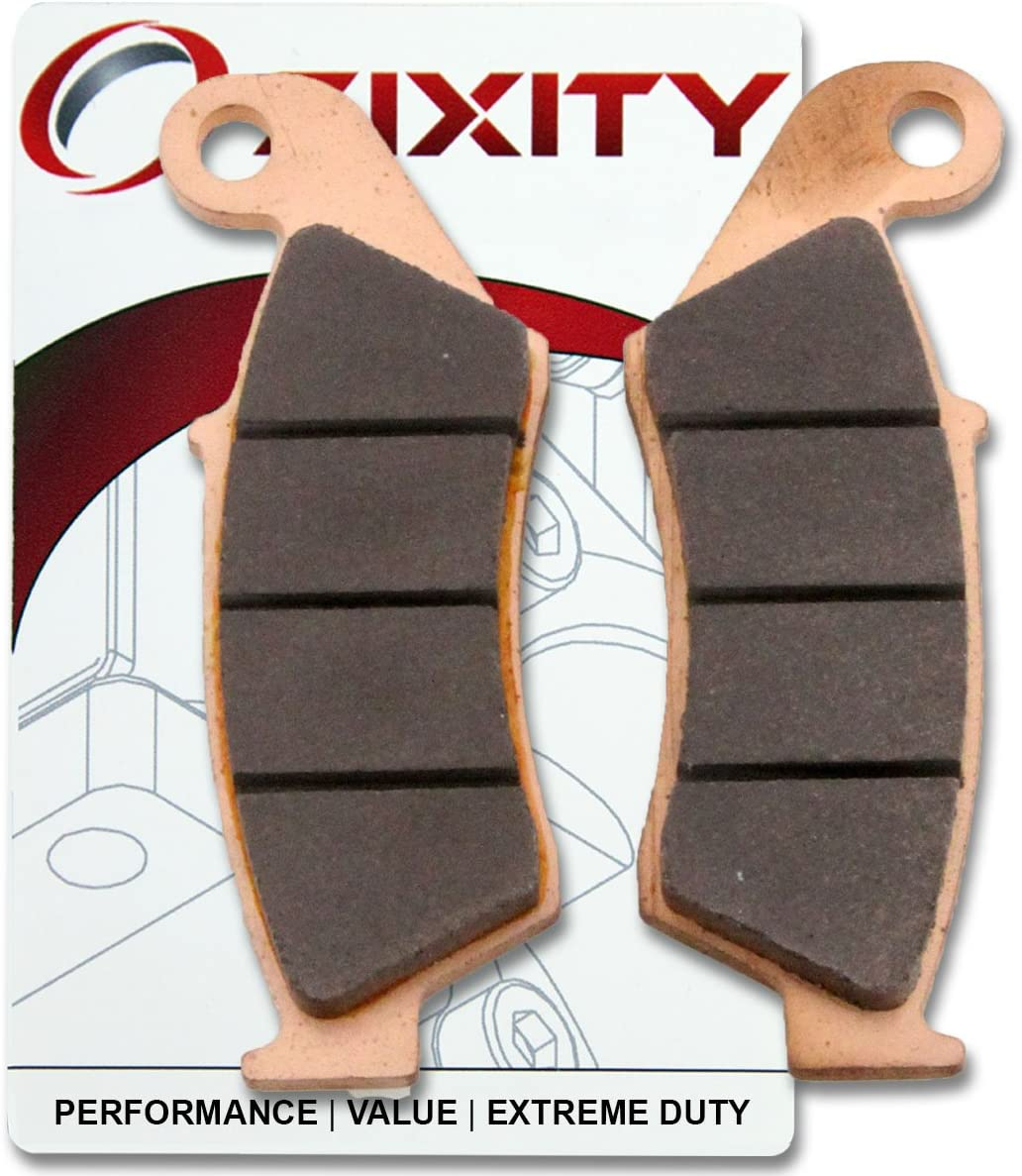 Sixity Front Sintered Brake Pads 2013-2015 for Suzuki DR-Z400SM Set Full Kit SMK5 SMK6 SMK7 SMK8 SMK9 SML3 SML4 SML5 Complete