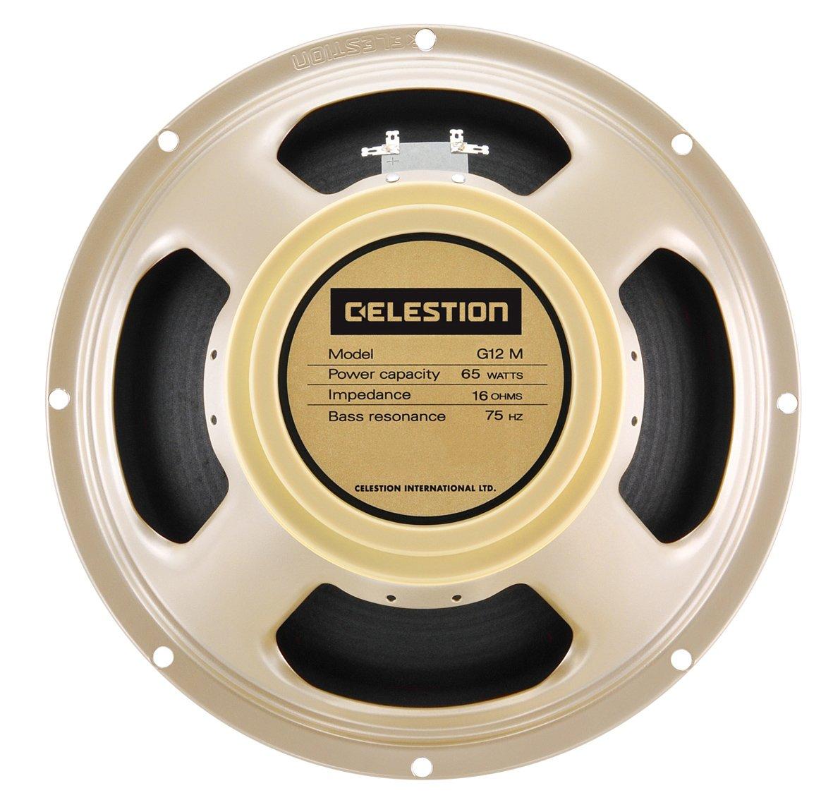 Speaker Celestion Classic G12 M CRE. 12 '65 W G12M-65 Creamback 16 ohm
