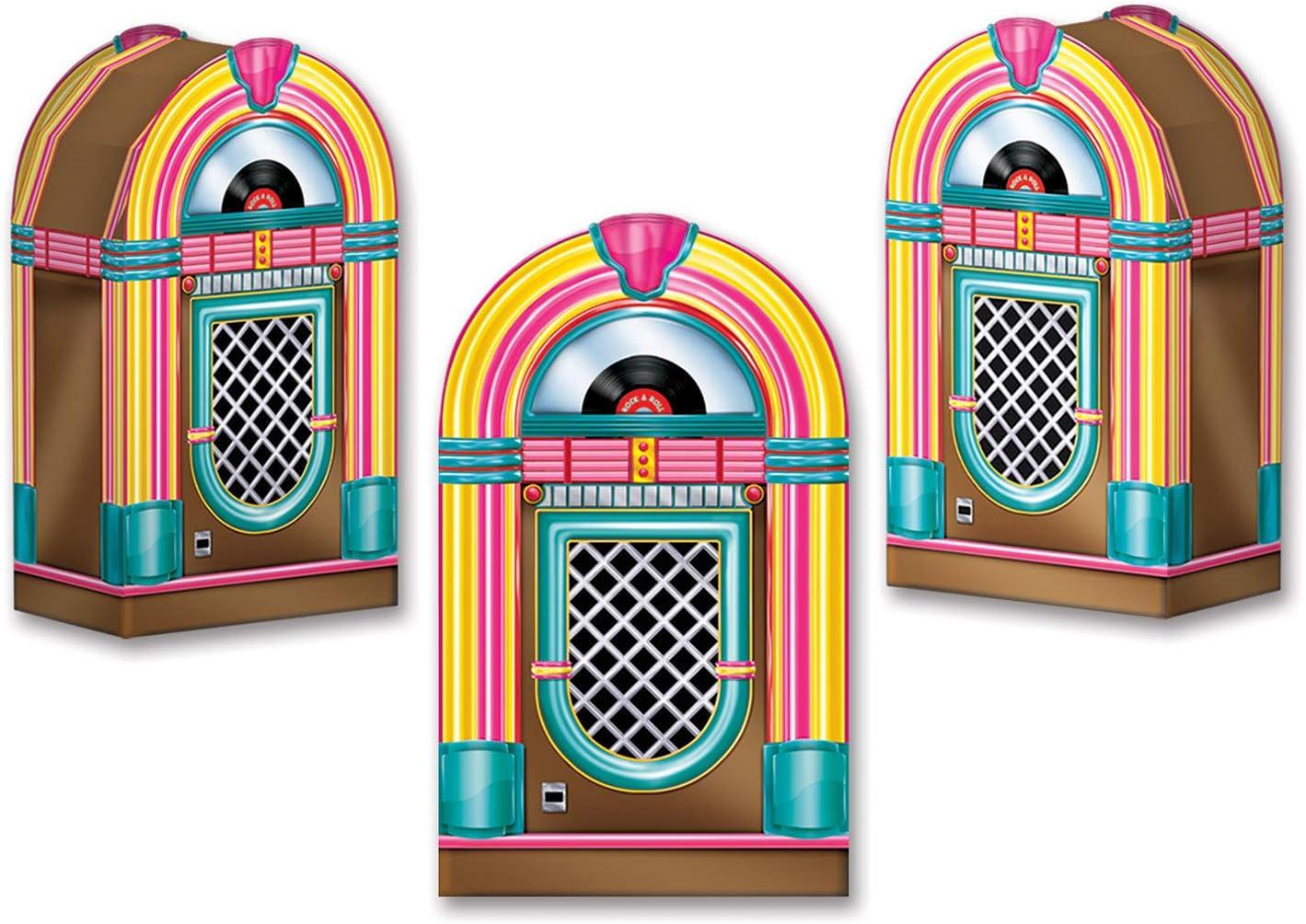 Beistle 54125 Favor Boxes, 3 Pcs, Multicolored