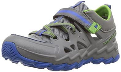 Merrell Kids' Hydro 2.0 Sandal, Grey/Multi, 10 Medium US Toddler