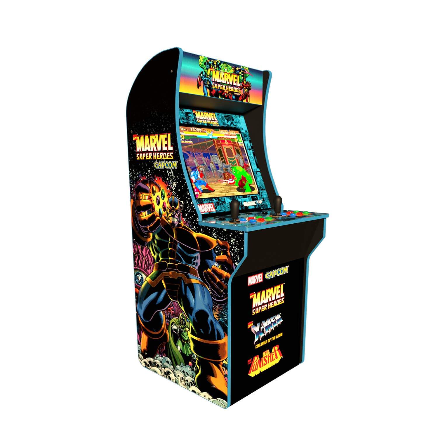 Arcade 1Up Marvel Super Heroes At-Home Arcade Machine 4ft