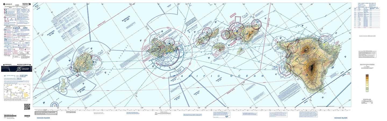 FAA Chart: VFR Sectional HAWAIIAN ISLANDS SHI (Current Edition)