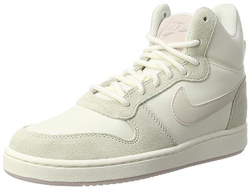 Nike W Court Borough Mid Prem Scarpe da Ginnastica Donna Beige Sail/Lt