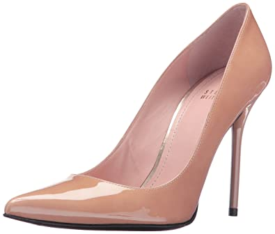 717f745833 Stuart Weitzman Women's Nouveau Extended Dress Pump, Adobe, ...