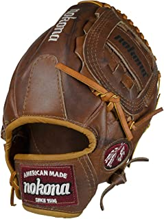 product image for Nokona AMG1200-W-CW 12-Inch Closed Web Walnut Leather Baseball Glove (Right-Handed Throw)