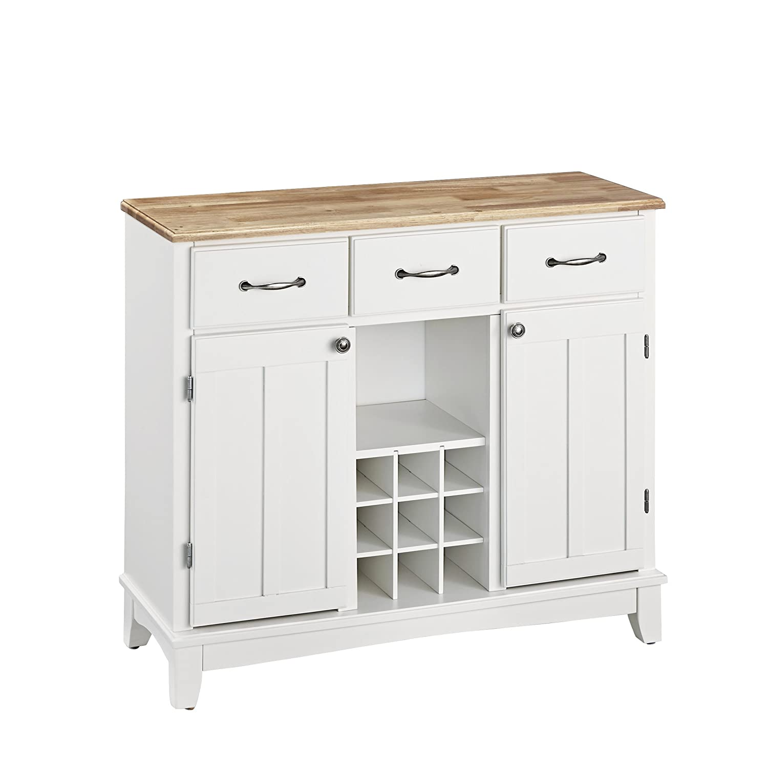 buffets and sideboards amazon com hutch style buffet white natural