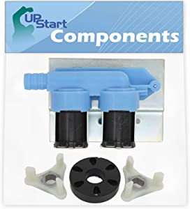 285805 Water Inlet Valve & 285753A Washer Motor Coupler Replacement for Whirlpool LA5578XSW2 Washing Machine - Compatible with 285805 Inlet Valve & 285753A Motor Coupling Kit