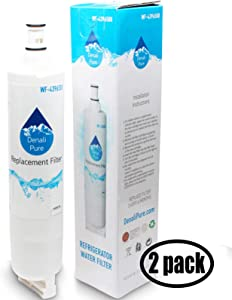 2-Pack Replacement for for Whirlpool 4396918 Refrigerator Water Filter - Compatible with with Whirlpool 4396918 Fridge Water Filter Cartridge