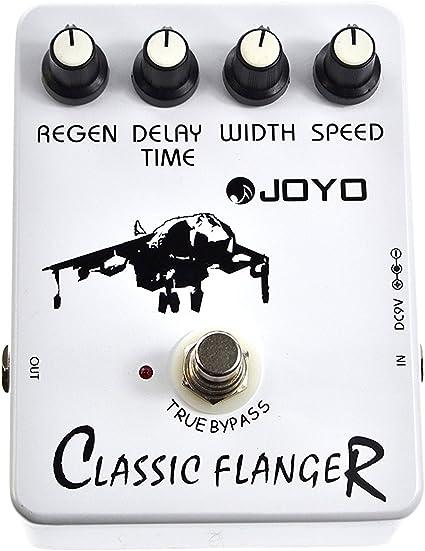 Joyo Pedal de Efectos para Guitarra Eléctrica (Flanger): Amazon.es ...