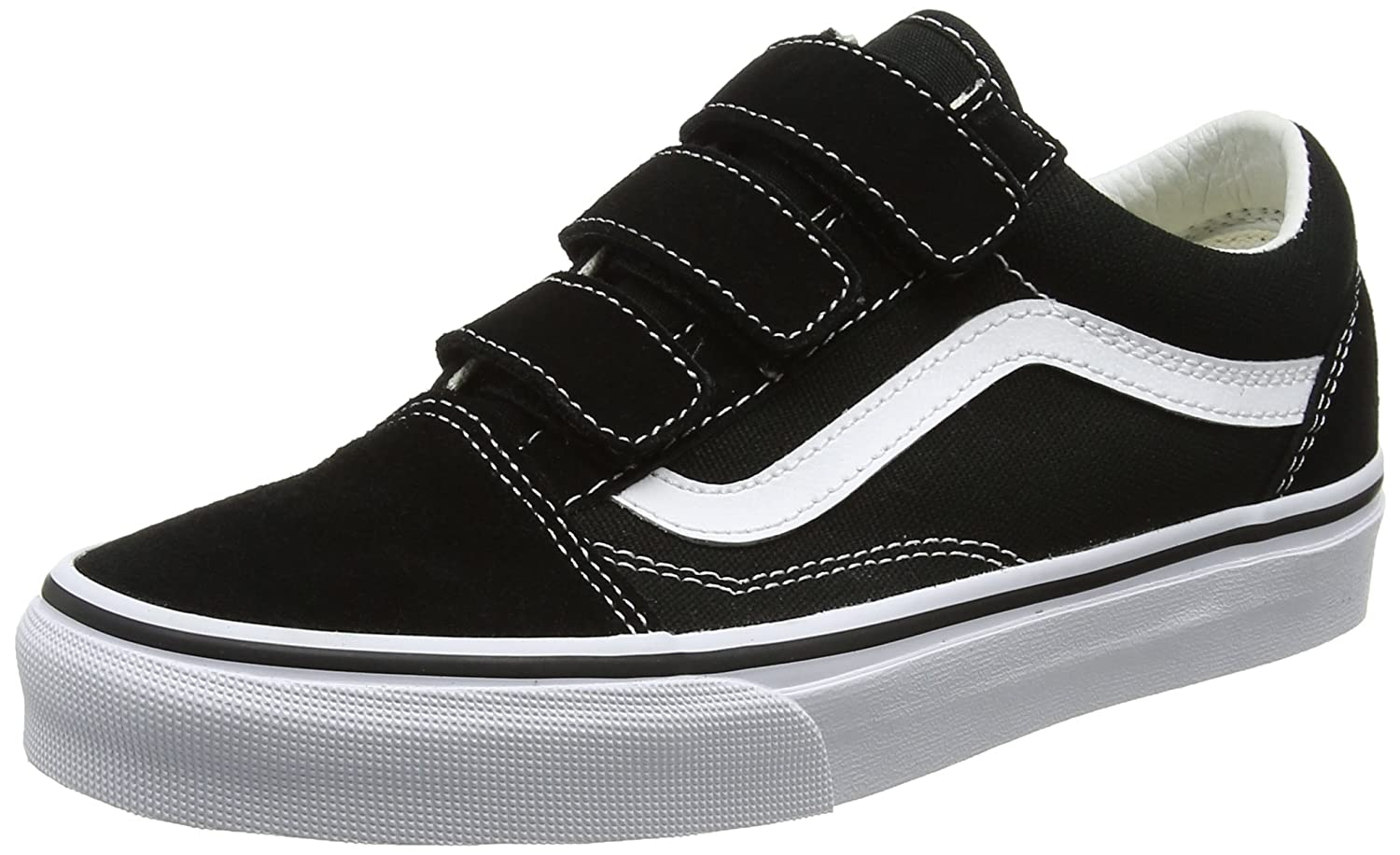 67460d80e3 vans Shoes – Old Skool V (Suede Canvas) Black White Size  45   Amazon.com.au  Fashion