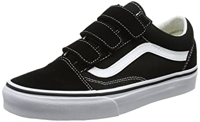 0cfc542e71 Image Unavailable. vans Shoes – Old Skool V (Suede Canvas) Black White ...
