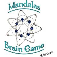 Mandalas, Konzentrationsspiel, Entspannungsspiel, Gehirnspiel, Sensortherapie gegen Autismus, Stressabbau, Zappelspielzeug, ADHS-Spielzeug für Kinder und Erwachsene