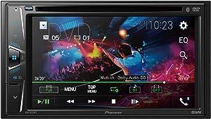 """PIONEER AVH-G225BT 2 DIN DVD Multimedia AV Receiver w/ 6.2"""" Display & Bluetooth"""