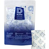 "[30 PACKS] 10 Gram - ""Dry & Dry"" Premium Pure & Safe Silica Gel Desiccants Dehumidifier - Rechargeable Paper"