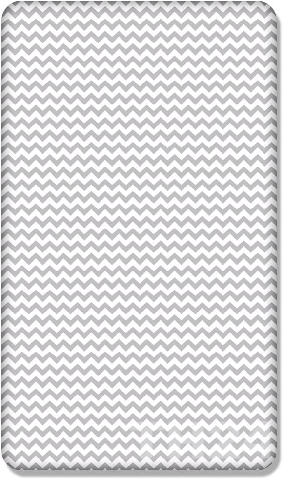 Zig zag 100/% Cotton Fitted Sheet with Printed Design for Baby Junior Bed 160x70CM