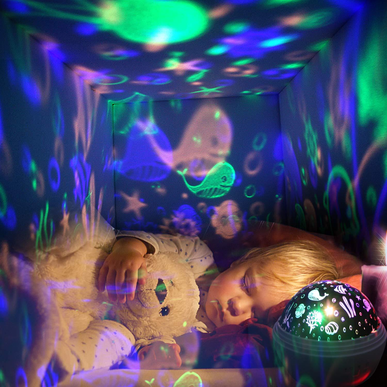 1-13 jährige geschenk,Sternenhimmel Projektor,Ozean Lampe Projektor ...
