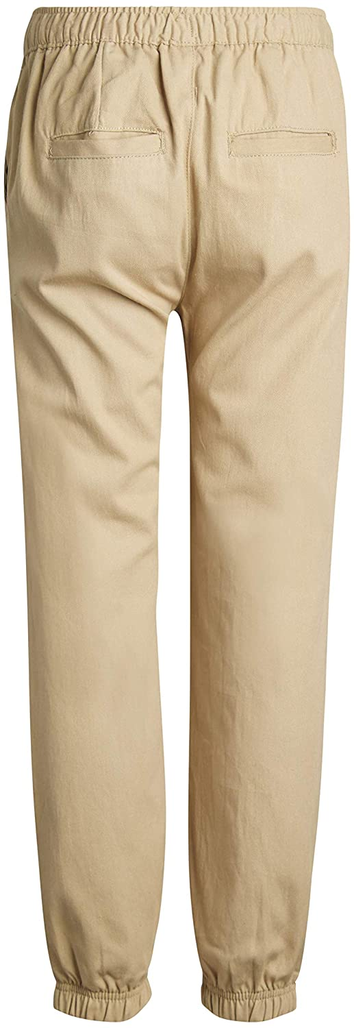 Beverly Hills Polo Club Boys School Uniform 2 Pack Twill Pull-On Jogger Pant