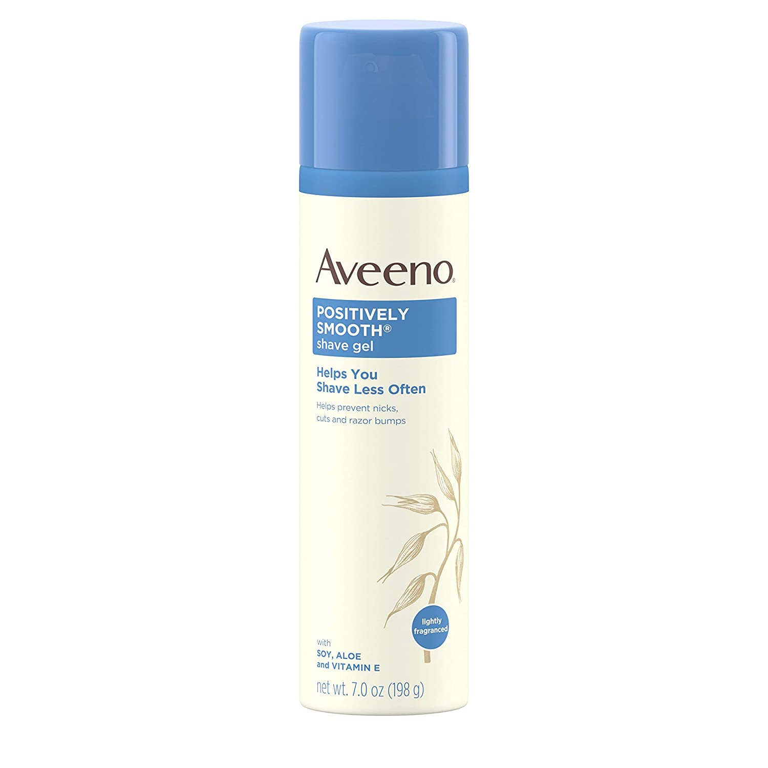 Aveeno - Active Naturals Positively Smooth Shave Gel with Natural Soy - 7 oz.