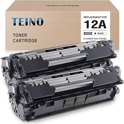 6PK Q2612A 12A Black Toner Cartridge For HP LaserJet 1012 1010 1015 3020 3050