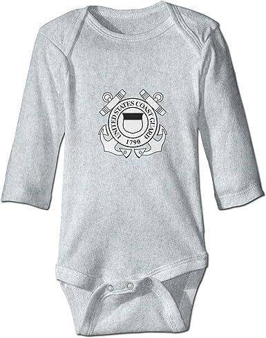 Estados Unidos Guardia Costera Unisex Bebé Crawler Suave Bebé ...