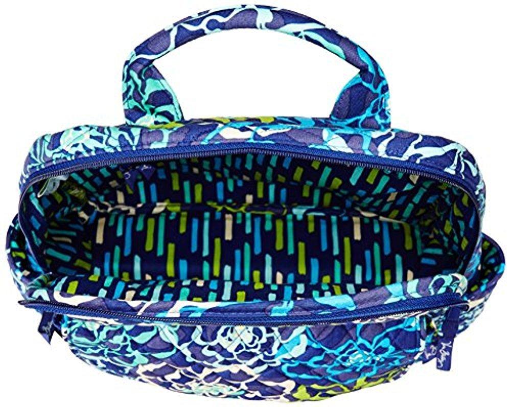 Vera Bradley Ultimate Backpack Shoulder Handbag, Katalina Blues, One Size