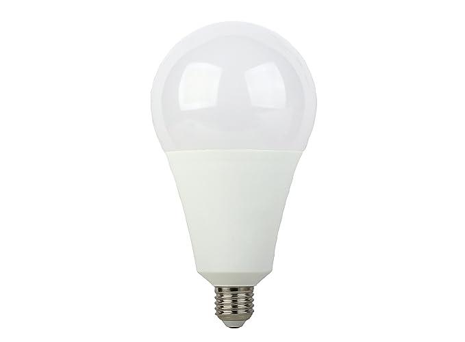 Bombilla LED E27 standard A110 30W luz calida (3000K) y 2450 Lm de intensidad