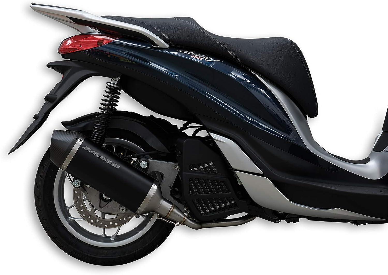Malossi 3217570 Auspuff Rx Black Piaggio Medley 125 Auto