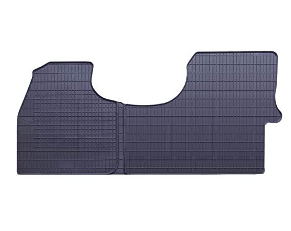 DAPA Prime Gummimatten Gummi Fu/ßmatten Komplettset Schwarz perfekt passend mit Rand 1103908