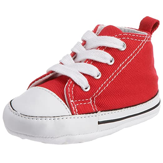 converse first all star crib trainers