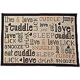 "Pet Rageous Cuddles Tapestry Mat Feeder, Large/28"" x 18"""
