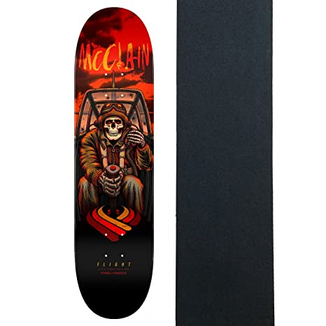 Image Unavailable. Image not available for. Color  Powell-Peralta  Skateboard Deck McClain Pilot Flight 243 ... f3a3148dc24