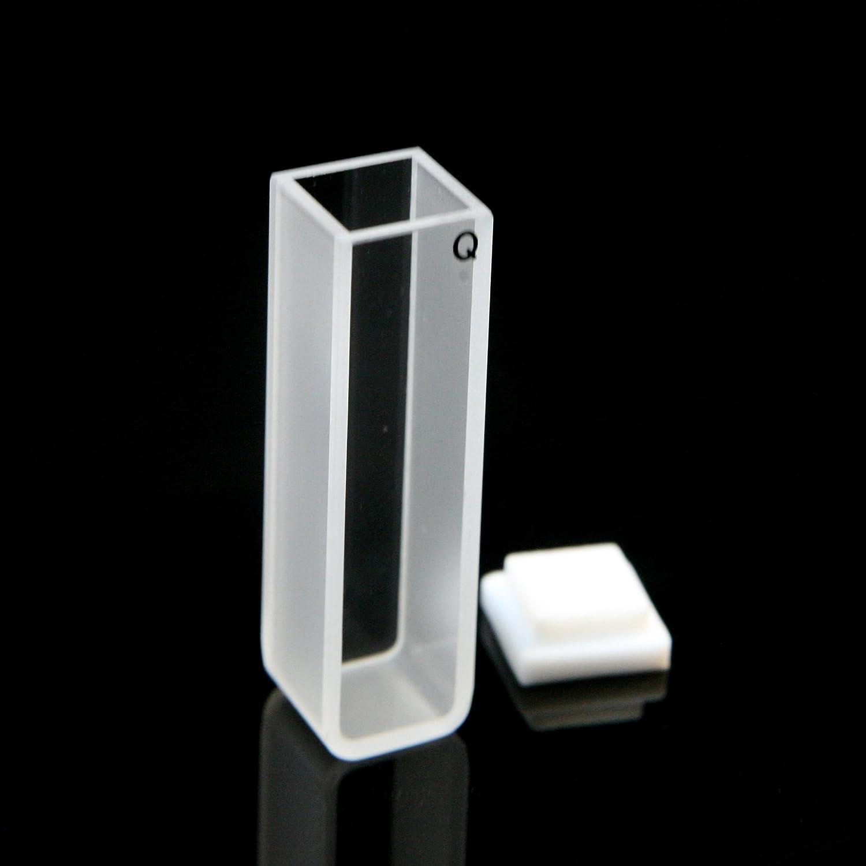 spectrometer cell 3.5 mL standard,10mm Quartz Cuvette