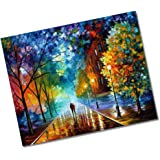 (Romantic Night) - DIY Oil Painting Newsight Paintworks Paint by Number for Kids and Adults (Romantic Night)