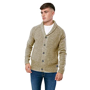 Broken Standard Mens Shawl Collar Neck Wool Mix Knitted Cardigan Button  Jumper  Amazon.co.uk  Clothing 5a2f234fc