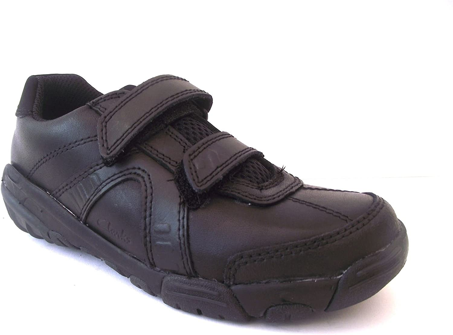 Leather Galaxyspin School Shoes 12F