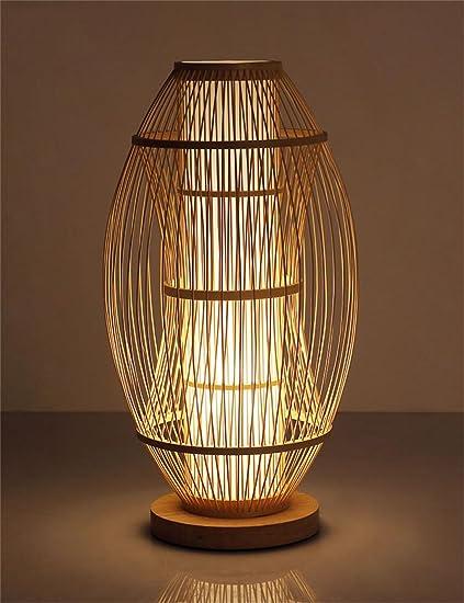 WENZHE Moderna Minimalista Creativo Pastoral lámpara de Mesa ...