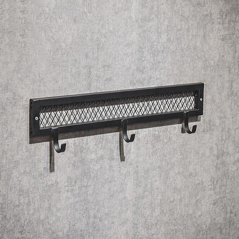 Hanger / hanger / clothes shop display stand / wall clothing rack / hanger / shop shelves / iron wall hook / shelf / shoe rack / iron net three hook / (60 15cm) by Hangers