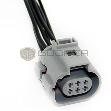 amazon com 1x 6 pin connector pigtail ford transit egr valve wiring rh amazon com ford 6.0 egr valve wiring diagram