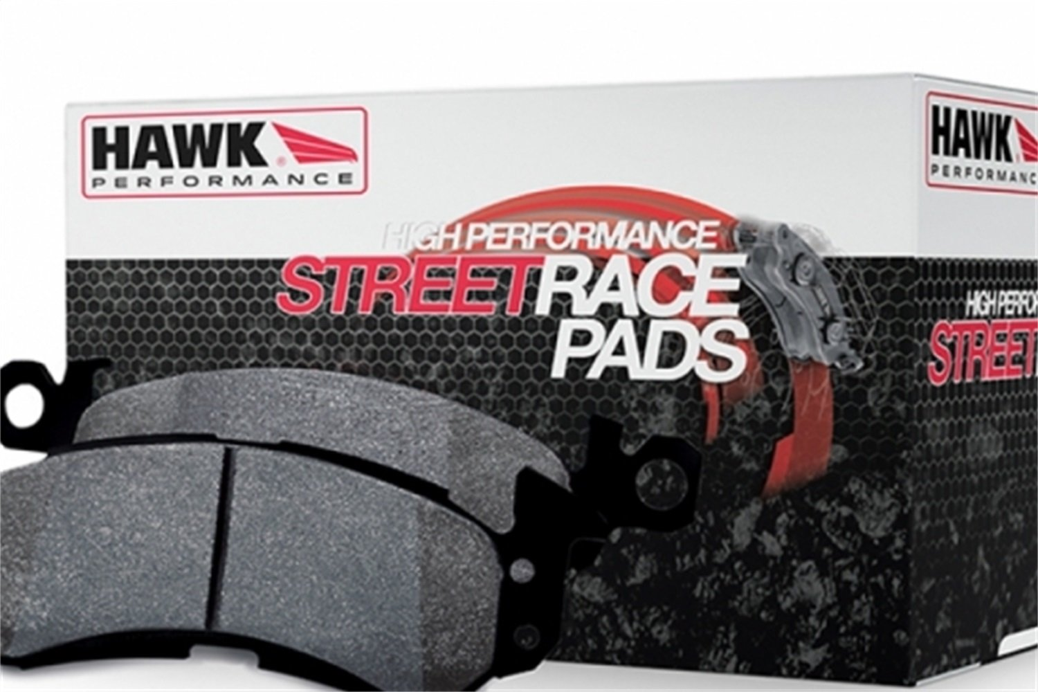 HB201R.620 High Performance Street Race Brake Pad Hawk Performance