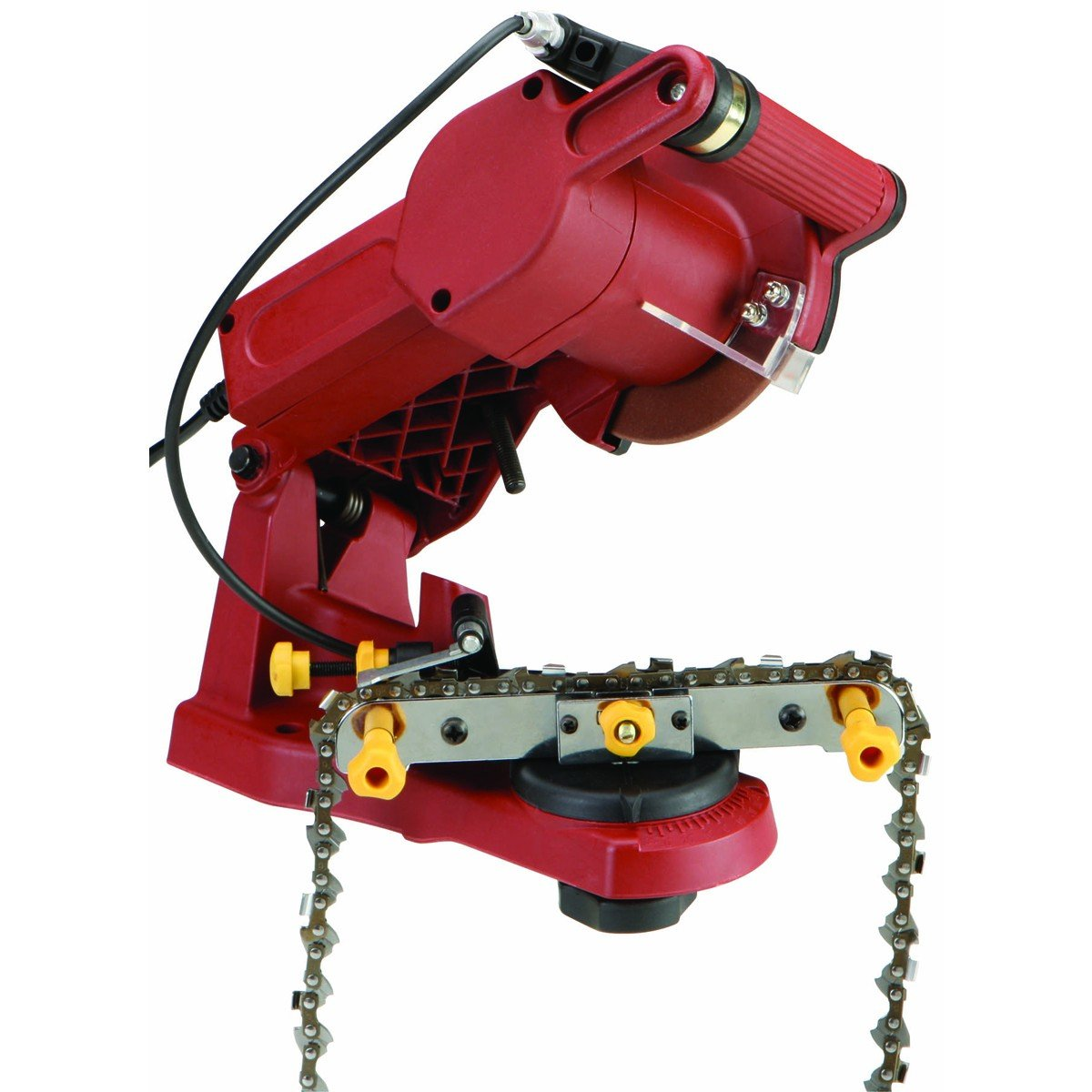 chainsaw blade sharpener. amazon.com : chicago electric chain saw sharpener by pneumatic garden \u0026 outdoor chainsaw blade