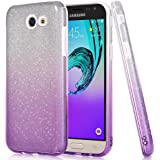 GBSELL Soft Colorful Sparkle Blink Case Cover For Samsung Galaxy J3 Emerge/prime 2017/J327