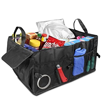 Car Boot Bag IWILCS Storage Organiser Box Luggage For SUV