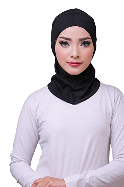 ❤ ATTIQA - Hijab deportivo para mujeres musulmanas con velo I Hiyab velo bufanda turbante pashmina ...