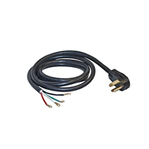 ALEKO WDC4W30A10 ETL 10-Foot Heavy Duty 4-Wire Dryer Cord, 30A