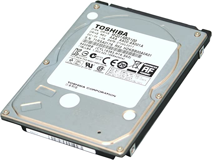 Toshiba 500GB SATA Laptop Hard Drive with 5400rpm 8MB Cache (2.5-inch) SATA Hard Drives at amazon
