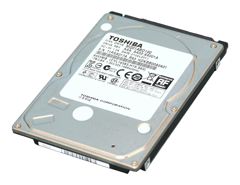 500GB Toshiba 2 5-inch SATA laptop hard drive (5400rpm, 8MB cache)  MQ01ABD050