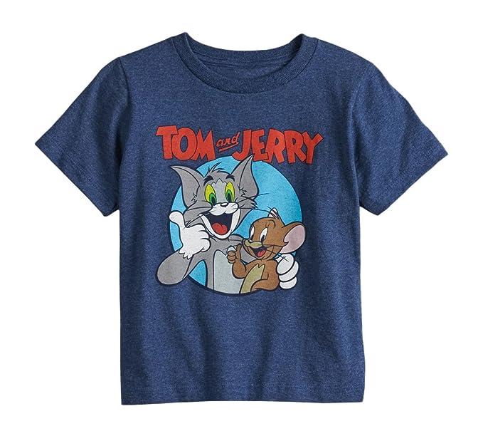 Amazon.com: Tom y Jerry dibujos animados bebé camisa, 3T ...